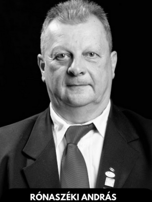 Elhunyt Rónaszéki András a Magyar Erőemelő Szövetség elnöke.